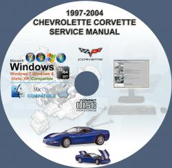 Corvette repair manuals