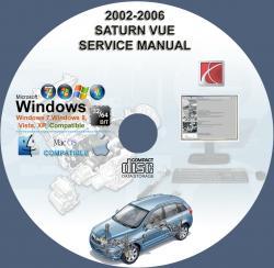 saturn vue 2002 2003 2004 2005 2006 service repair manual on cd www servicemanualforsale com 2006 saturn vue owner's manual 2006 saturn vue owners manual free