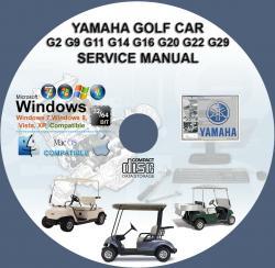 Yamaha Golf Car on Yamaha G9 Engine