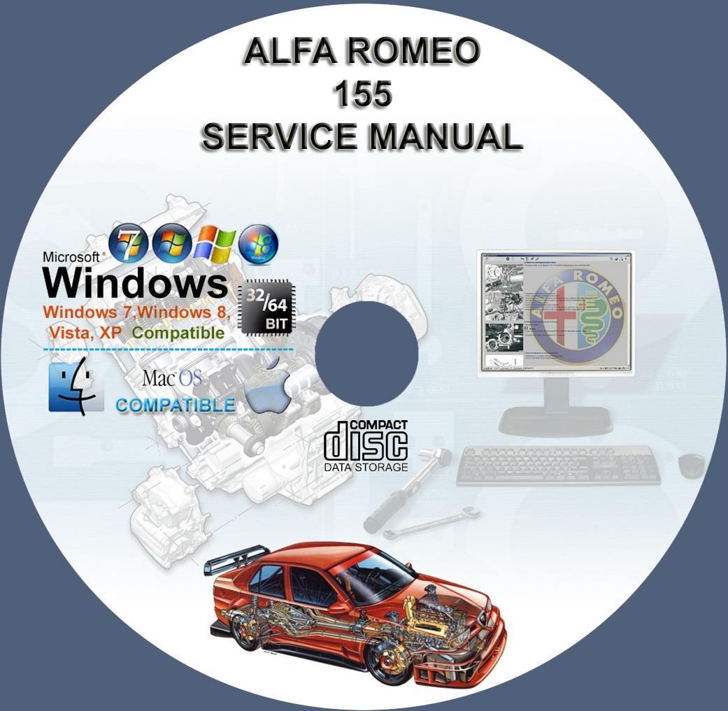 alfa romeo 155 service repair manual on cd www rh servicemanualforsale com alfa romeo 155 q4 service manual alfa romeo 155 q4 service manual
