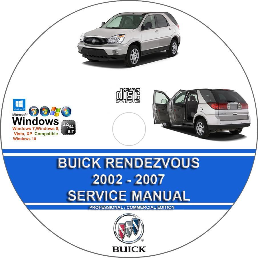 Buick Rendezvous 2002 2003 2004 2005 2006 2007 Service