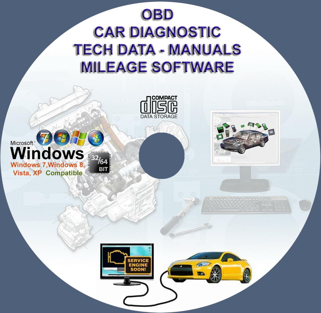 Car Diagnostic and Chip Tuning Software DVD OBD2 - Laptop | www