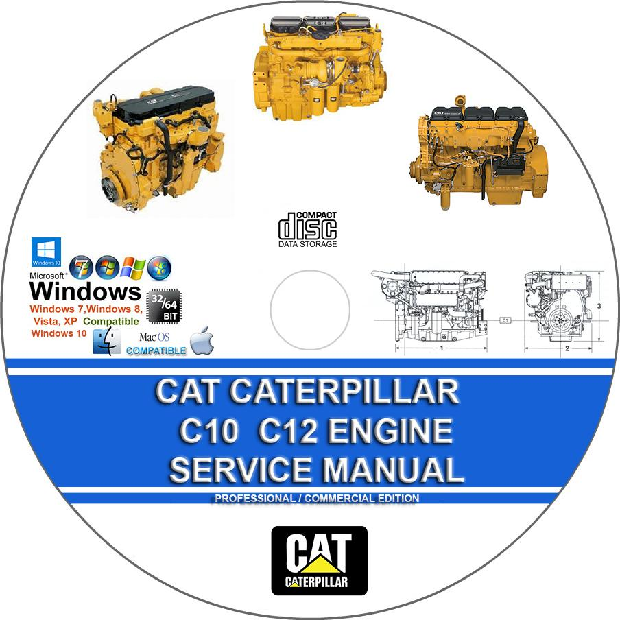Cat Caterpillar C10 C12 C15 C16 C18 Engine Service Repair Manual