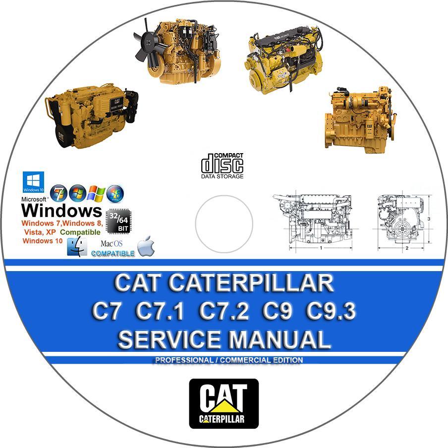 Cat Caterpillar C7 C7 1 C7 2 C9 C9 3 Engine Service Repair