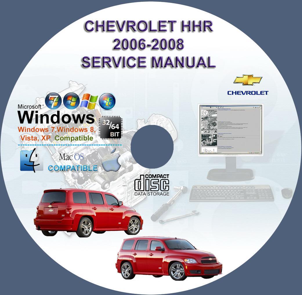 Chevrolet Hhr 2006 2008 Service Repair Manual On Cd Www Wiring Diagram
