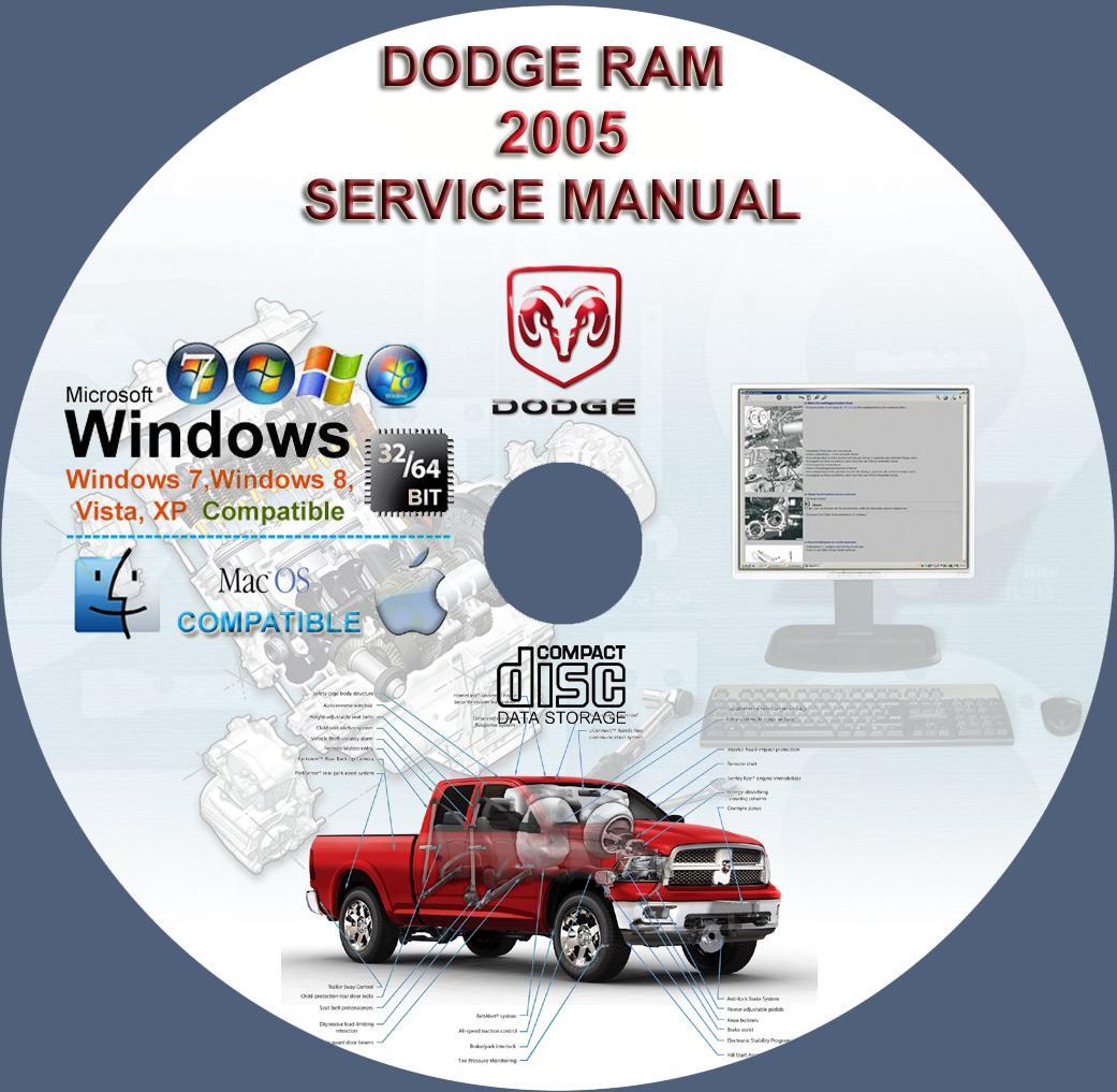 Dodge Ram 1500 2500 3500 4000 Ram Pickup 2005 Service