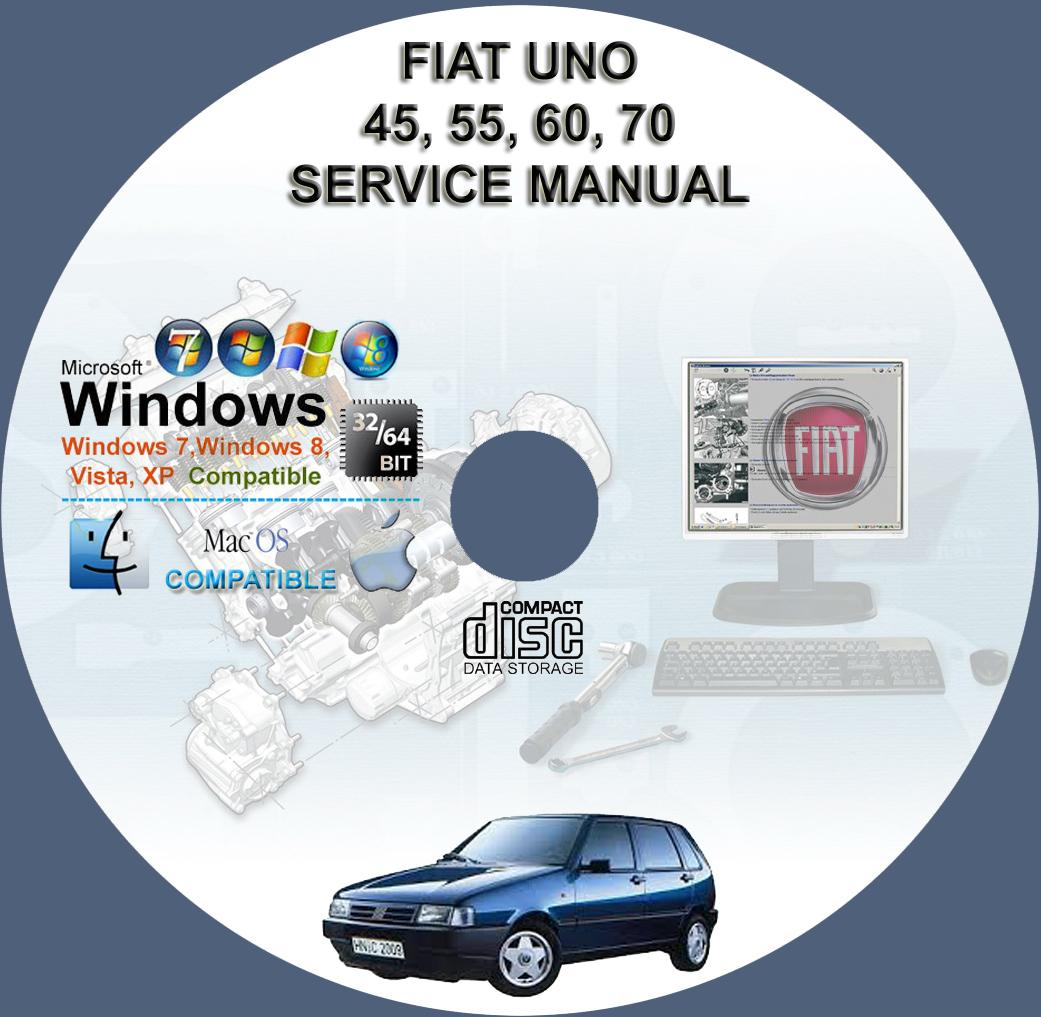 Fiat Uno 45  55  60  70  1 1 And 1 4 Service And Repair