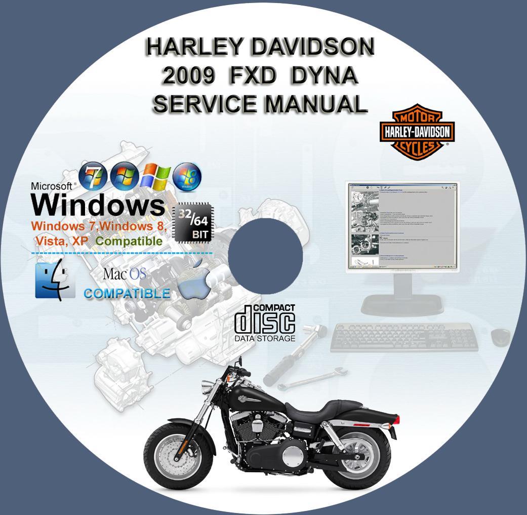 Harley Davidson Fxd Dyna 2009 Service Repair Workshop