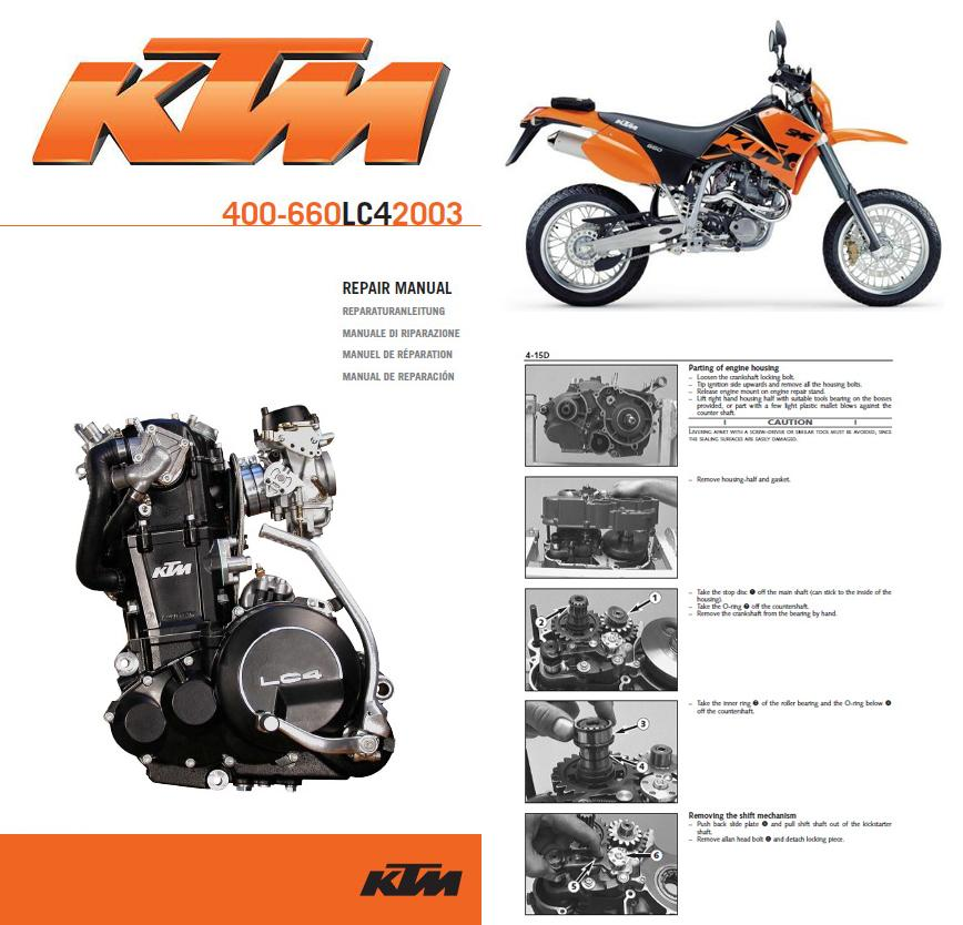 ktm 400 660 lc4 service repair manual cd 1998 2003 www rh servicemanualforsale com ktm lc4 640 repair manual pdf ktm lc4 640 repair manual pdf