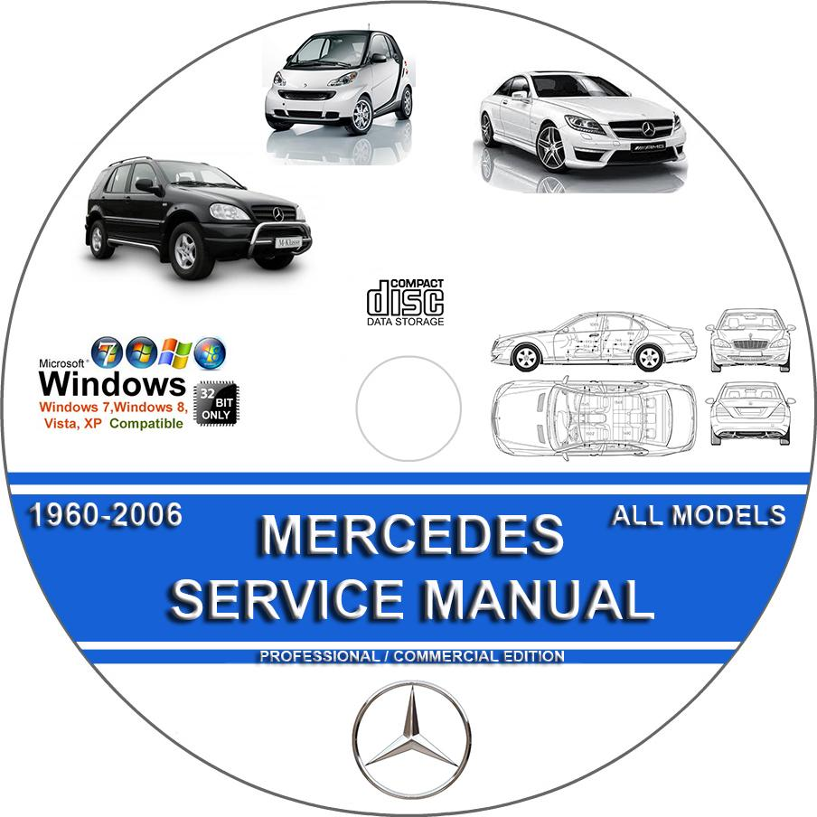 Mercedes Electrical Wiring Diagrams & Schematics + WIS + EPC ... on