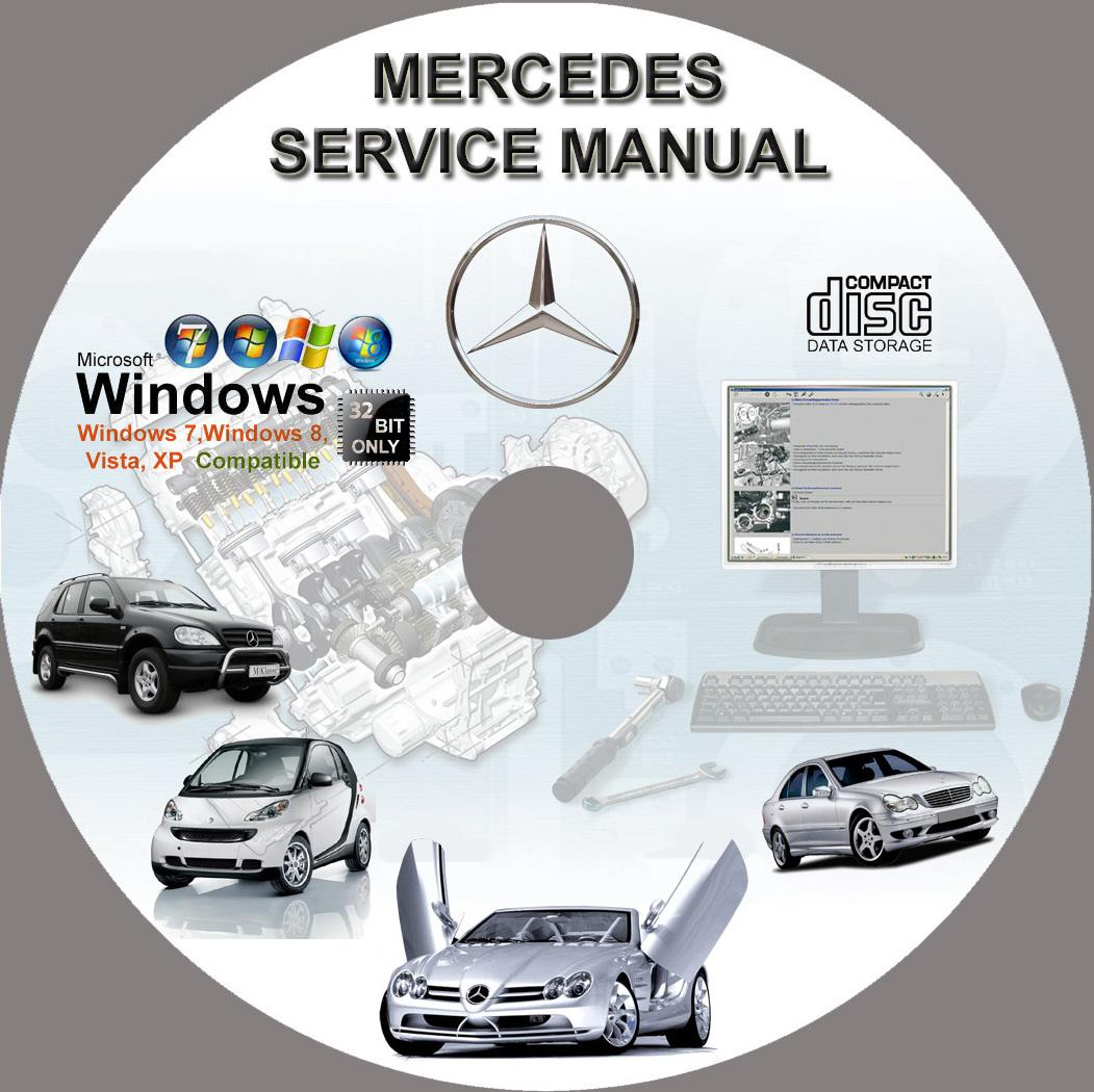 Mercedes ml230 ml320 ml350 ml430 ml500 ml270cdi service for Mercedes benz online repair manual