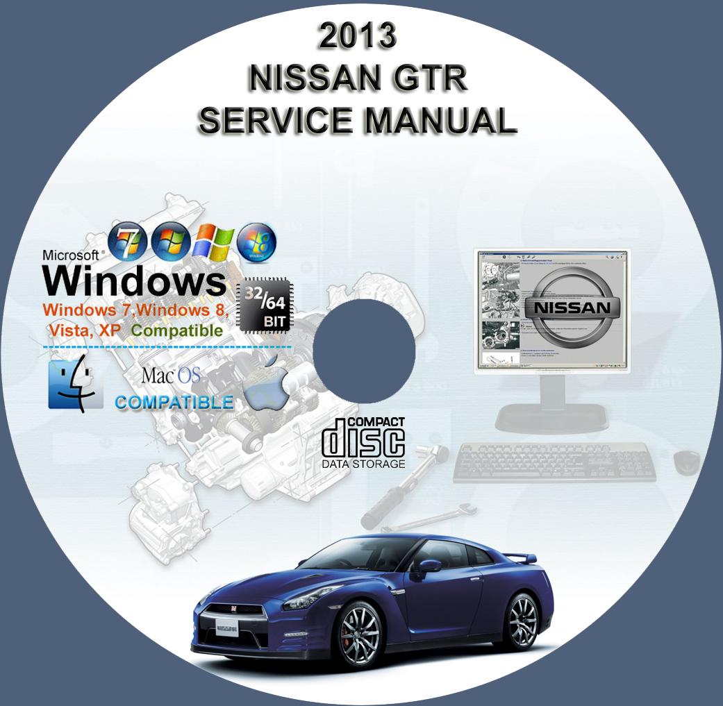 nissan gt r r35 series 2013 factory service repair manual on cd rh servicemanualforsale com Dodge Factory Service Manual mercedes factory service manual cd