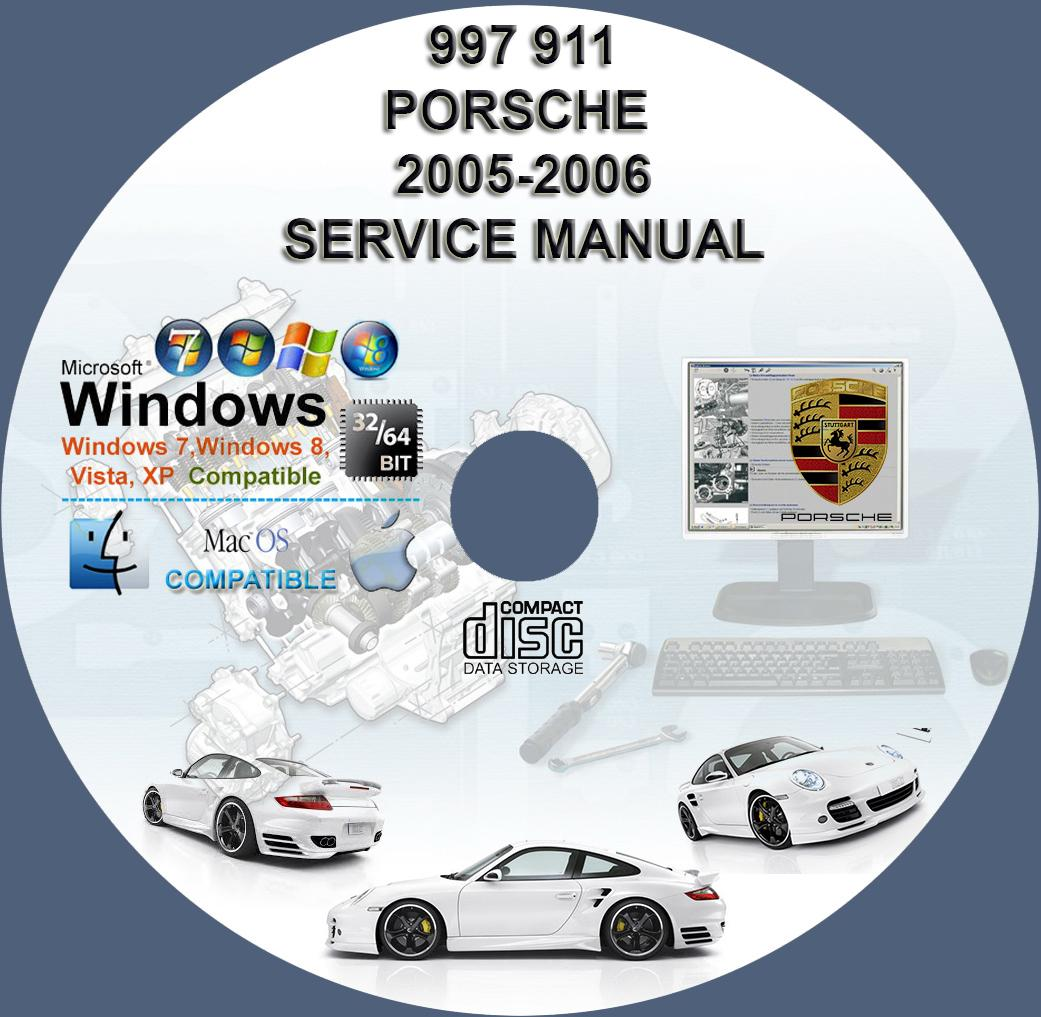 porsche 911 997 workshop service repair manual cd 2005. Black Bedroom Furniture Sets. Home Design Ideas