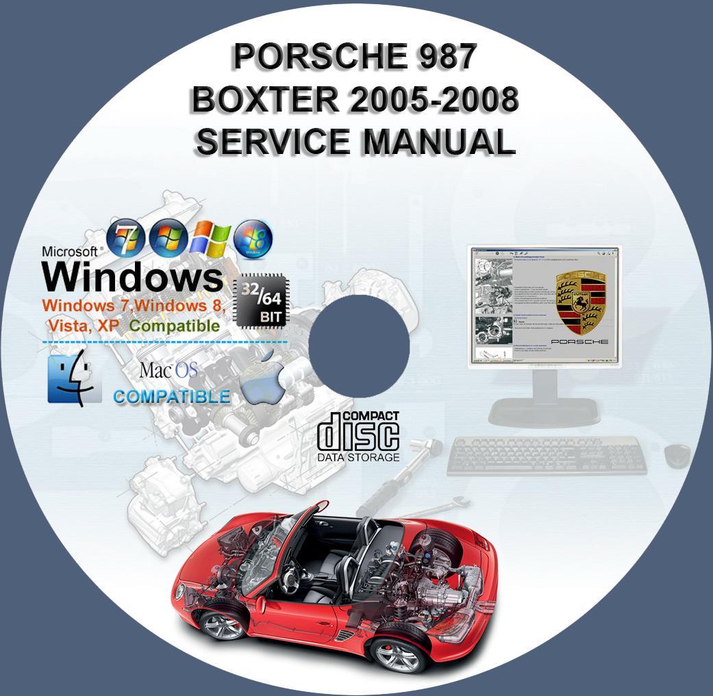 Porsche 987 Boxster 2005-2008 Workshop Service Repair ...