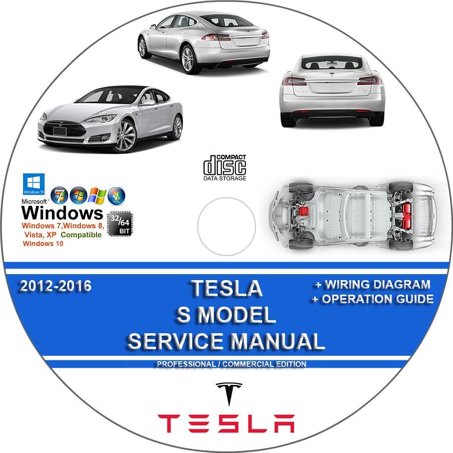 Tesla S Model 2012